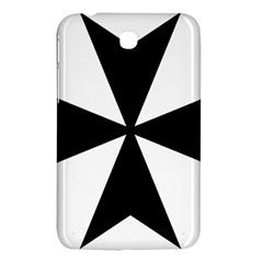 Maltese Cross Samsung Galaxy Tab 3 (7 ) P3200 Hardshell Case  by abbeyz71