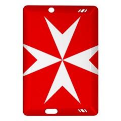 Cross Of The Order Of St  John  Amazon Kindle Fire Hd (2013) Hardshell Case by abbeyz71