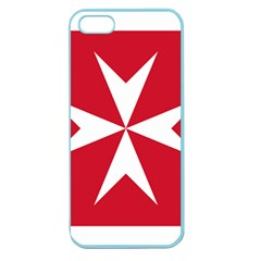 Civil Ensign Of Malta Apple Seamless Iphone 5 Case (color) by abbeyz71