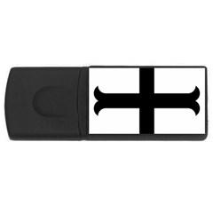 Cross Moline Usb Flash Drive Rectangular (4 Gb) by abbeyz71