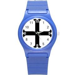 Cross Moline Round Plastic Sport Watch (s) by abbeyz71