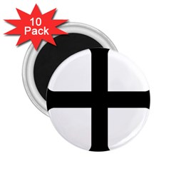 Cross Molin 2 25  Magnets (10 Pack)  by abbeyz71