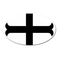 Cross Molin Oval Magnet by abbeyz71