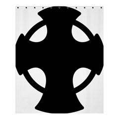 Cross Of Novgorod Shower Curtain 60  X 72  (medium)  by abbeyz71