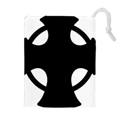 Cross Of Novgorod Drawstring Pouches (extra Large) by abbeyz71