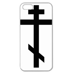 Orthodox Cross  Apple Seamless Iphone 5 Case (clear) by abbeyz71