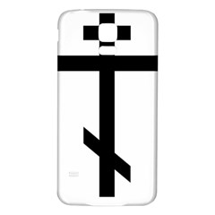 Orthodox Cross  Samsung Galaxy S5 Back Case (white) by abbeyz71