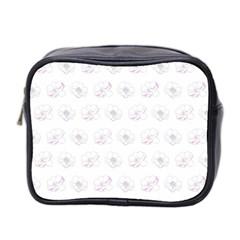 Pattern Mini Toiletries Bag 2 Side by Valentinaart