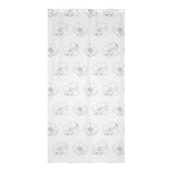 Pattern Shower Curtain 36  X 72  (stall)  by Valentinaart
