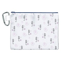 Pattern Canvas Cosmetic Bag (xxl) by Valentinaart