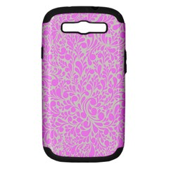 Pattern Samsung Galaxy S Iii Hardshell Case (pc+silicone) by Valentinaart