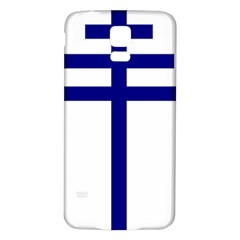 Papal Cross  Samsung Galaxy S5 Back Case (white) by abbeyz71