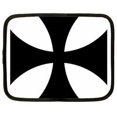 Cross Patty Netbook Case (large) by abbeyz71