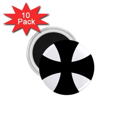 Cross Patty 1 75  Magnets (10 Pack)  by abbeyz71