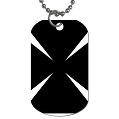 Cross Patty  Dog Tag (two Sides) by abbeyz71