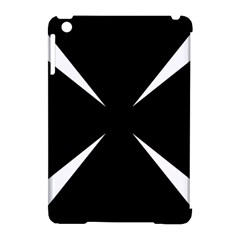 Cross Patty  Apple Ipad Mini Hardshell Case (compatible With Smart Cover) by abbeyz71