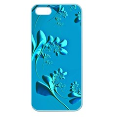 Amazing Floral Fractal A Apple Seamless Iphone 5 Case (color) by Fractalworld