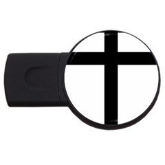 Patriarchal Cross Usb Flash Drive Round (2 Gb) by abbeyz71