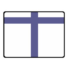 Patriarchal Cross Fleece Blanket (small) by abbeyz71