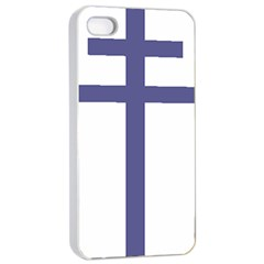 Patriarchal Cross Apple Iphone 4/4s Seamless Case (white) by abbeyz71