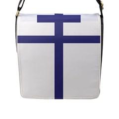 Patriarchal Cross Flap Messenger Bag (l)  by abbeyz71
