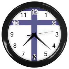 Patriarchal Cross Wall Clocks (black) by abbeyz71