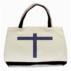 Patriarchal Cross Basic Tote Bag by abbeyz71