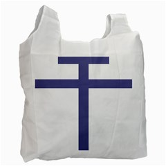 Patriarchal Cross Recycle Bag (two Side)  by abbeyz71