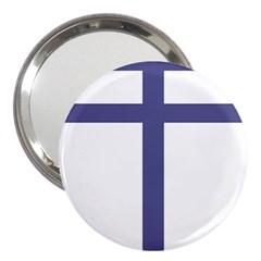 Patriarchal Cross 3  Handbag Mirrors by abbeyz71