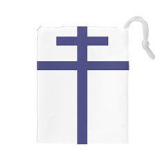 Patriarchal Cross Drawstring Pouches (large)  by abbeyz71