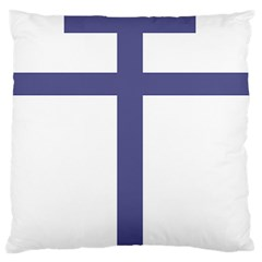 Patriarchal Cross Standard Flano Cushion Case (two Sides) by abbeyz71
