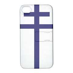 Patriarchal Cross  Apple Iphone 4/4s Hardshell Case With Stand by abbeyz71