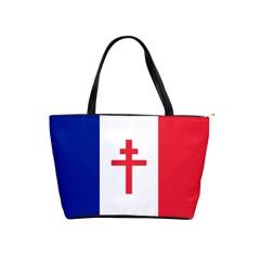 Flag Of Free France (1940 1944) Shoulder Handbags by abbeyz71
