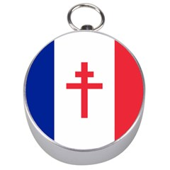 Flag Of Free France (1940 1944) Silver Compasses by abbeyz71