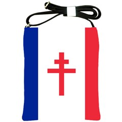 Flag Of Free France (1940 1944) Shoulder Sling Bags by abbeyz71