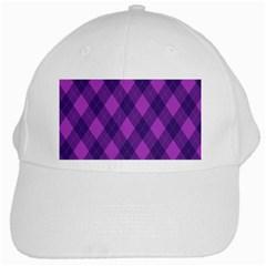 Pattern White Cap by Valentinaart