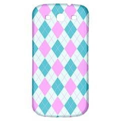 Plaid Pattern Samsung Galaxy S3 S Iii Classic Hardshell Back Case by Valentinaart