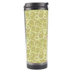 Plaid Pattern Travel Tumbler by Valentinaart