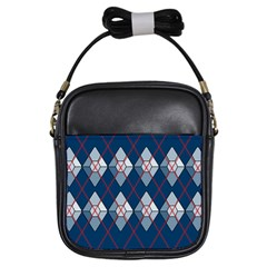 Diamonds And Lasers Argyle  Girls Sling Bags by emilyzragz