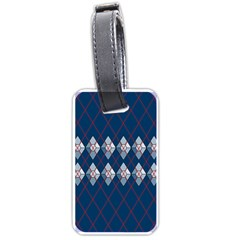 Diamonds And Lasers Argyle  Luggage Tags (two Sides) by emilyzragz