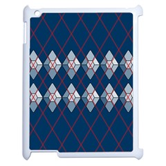 Diamonds And Lasers Argyle  Apple Ipad 2 Case (white) by emilyzragz