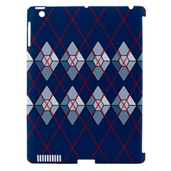 Diamonds And Lasers Argyle  Apple Ipad 3/4 Hardshell Case (compatible With Smart Cover) by emilyzragz