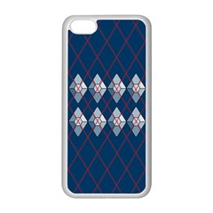 Diamonds And Lasers Argyle  Apple Iphone 5c Seamless Case (white) by emilyzragz