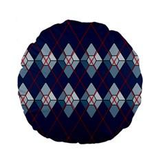 Diamonds And Lasers Argyle  Standard 15  Premium Flano Round Cushions by emilyzragz