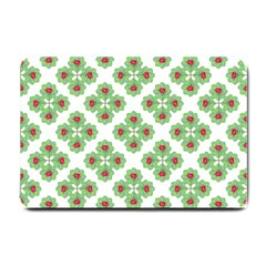 Floral Collage Pattern Small Doormat  by dflcprints