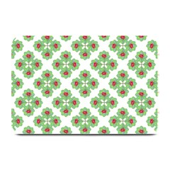 Floral Collage Pattern Plate Mats