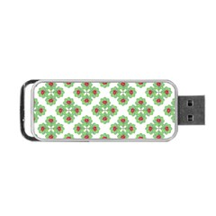 Floral Collage Pattern Portable Usb Flash (two Sides) by dflcprints