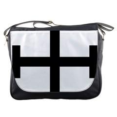 Cross Potent Messenger Bags by abbeyz71