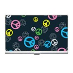 Peace & Love Pattern Business Card Holders