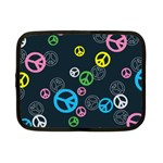 Peace & Love Pattern Netbook Case (Small)